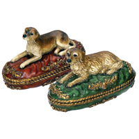 Sterling Industries Set of 2 Prized Pet Boxes Decorative Accessory 93-5680