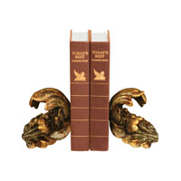 Sterling Industries Pair Turning Leaf Bookends Decorative Accessory 93-6548