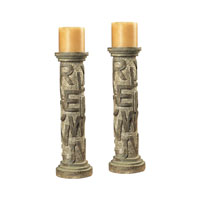 Sterling Industries Alphabet Table Candel Holders Decorative Accessory in Montuak With Avignon 93-9166 photo thumbnail