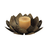 Sterling Industries Lotus Voitive Decorative Accessory in Burnt Briarwood 93-9170