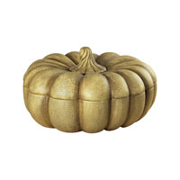 Sterling Industries Gourd Box Concort Finish Decorative Accessory in Concort White 93-9177