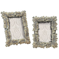 Sterling Industries Florintine Scroll Picture Frames S/M in Imperial Silver 93-9198