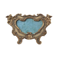 Sterling Industries Florintine Scroll Picture Frames - Oval in Sussex Stone With Gold 93-9200
