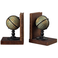 Sterling 93-9224 Atlas 5 X 4 inch Brown/Green Bookend