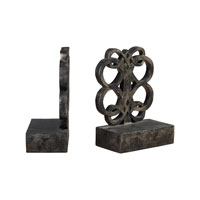 Sterling Industries Bookends In Durand Bronze Finsih Decorative Accessory 93-9231