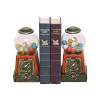 Sterling Industries Pair Candy Treasure Bookends Decorative Accessory 93-9255