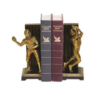 Sterling Industries Pair Vintage Touchdown Bookends Decorative Accessory 93-9508 photo thumbnail