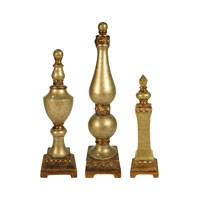 Sterling Industries Set of 3 Lisbon Finials Decorative Accessory 97-6164