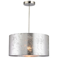 Tsar 1 Light 16 inch Silver Pendant Ceiling Light