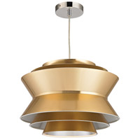 Godnik 1 Light 15 inch Gold Pendant Ceiling Light
