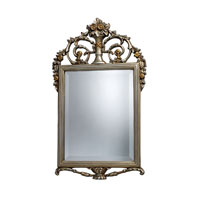 Sterling Industries Stewart Mirror in Antique Silver With Gold DM1926