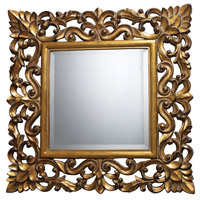Barrets 22 X 22 inch Beaufort Gold Mirror Home Decor