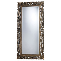 Tripoli 60 X 28 inch Allen Gold Mirror Home Decor