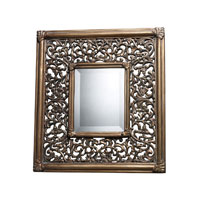 Collingswood 21 X 19 inch Ravenhill Gold Wall Mirror Home Decor