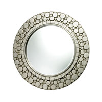 Monterey 36 X 36 inch Silver Leaf Mirror Home Decor