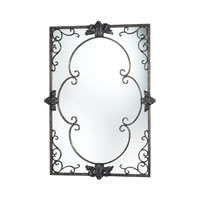Harrowgate 49 X 35 inch Katrina Silver Mirror Home Decor
