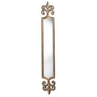 Smithfield 59 X 9 inch Wheling Antique Gold Mirror Home Decor