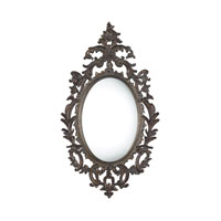 Berkeley 51 X 29 inch Fawnfield Distressed Bronze Mirror Home Decor