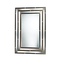 Sterling Industries Montanna Mirror in Black And Gold DM1998