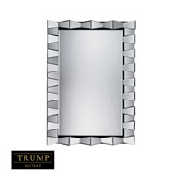 La Porte 47 X 32 inch Clear Mirror Home Decor, Trump Home