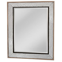Fremont 50 X 40 inch Brown Wall Mirror Home Decor