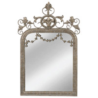 Latrobe 35 X 23 inch Aztec Silver Wall Mirror Home Decor