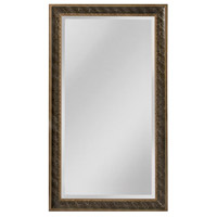 Clearfield 82 X 46 inch Black Trace Wall Mirror Home Decor