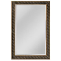 Clearfield 46 X 34 inch Black Wall Mirror