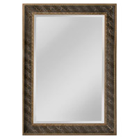 Clearfield 38 X 30 inch Black Wall Mirror Home Decor
