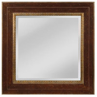 Sterling MW4053C-0036 Darcey 34 X 34 inch Walnut and Roman Gold Wall Mirror