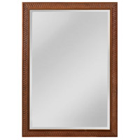 Everett 41 X 29 inch Bronze Wall Mirror Home Decor