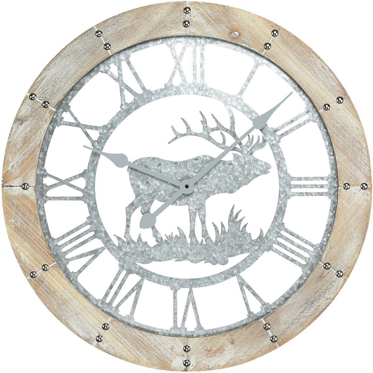 Sterling Industries 3214 1020 Crawford Notch 24 X 24 Inch Wall Clock