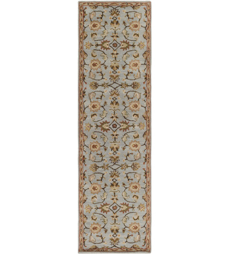Surya AWMD1004-238 Middleton 96 X 27 inch Medium Gray/Dark Brown/Taupe/Tan/Rust/Khaki/Cream Rugs, Runner photo