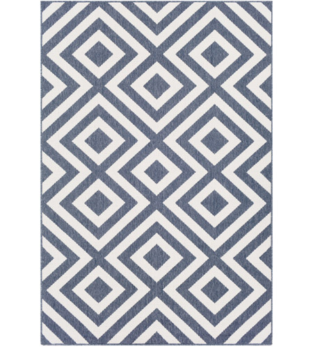 Surya ALF9657-5376 Alfresco 90 X 63 inch Charcoal Outdoor Area Rug, Rectangle photo