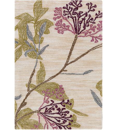 Surya Ame2224 23 Ameila 36 X 24 Inch Purple And Purple Area Rug Polyester