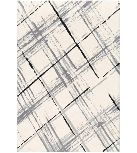 Surya APY1021-7696 Apricity 114 X 90 inch Medium Gray and Light Gray Area Rug photo