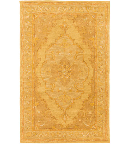 Surya AWHR2059-58 Middleton 96 X 60 inch Mustard/Tan/Camel Rugs, Rectangle photo