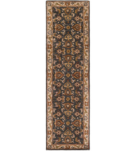Surya AWHY2063-7696 Middleton 114 X 90 inch Denim/Tan/Khaki/Olive/Dark Red/Camel Rugs, Rectangle photo