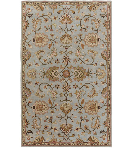 Surya AWMD1004-58 Middleton 96 X 60 inch Medium Gray/Dark Brown/Taupe/Tan/Rust/Khaki/Cream Rugs, Rectangle photo