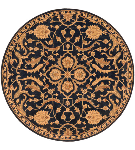 Surya AWMD2088-8RD Middleton 96 X 96 inch Navy Indoor Area Rug, Round photo