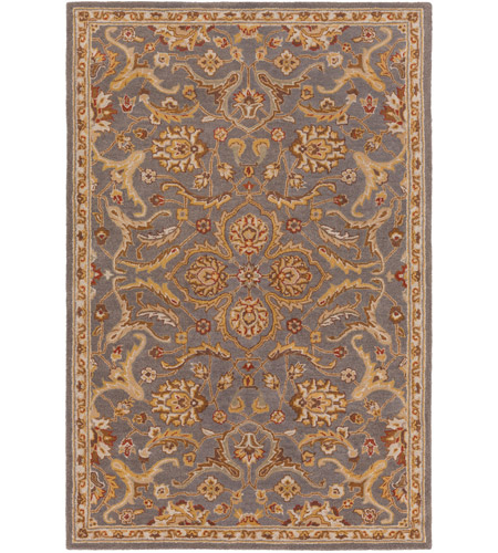 Surya AWMD2092-46 Middleton 72 X 48 inch Medium Gray Indoor Area Rug, Rectangle photo