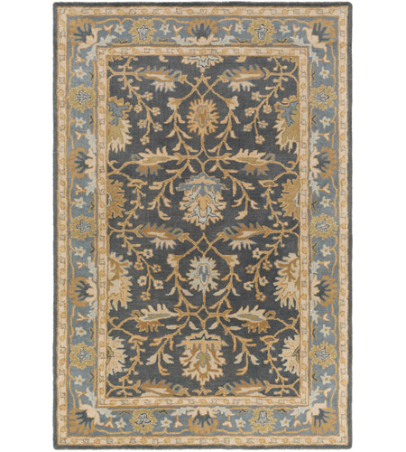 Surya AWMD2100-46 Middleton 72 X 48 inch Charcoal Indoor Area Rug, Rectangle photo
