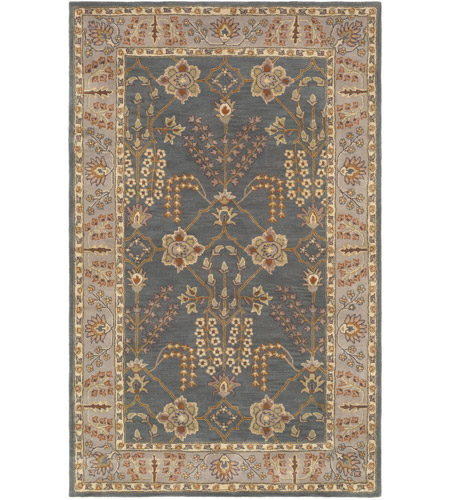 Surya AWMD2242-58 Middleton 96 X 60 inch Teal/Taupe/Cream/Olive/Camel/Charcoal/Dark Green Rugs, Rectangle photo
