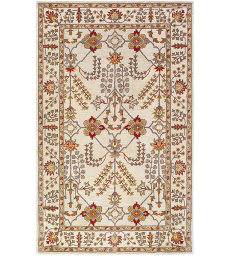 Surya AWMD2243-46 Middleton 72 X 48 inch Dark Red/Camel/Khaki/Wheat/Olive/Taupe/Medium Gray Rugs, Rectangle photo