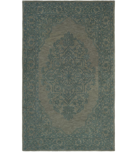 Surya AWMD2357-810 Middleton 120 X 96 inch Teal Indoor Area Rug, Rectangle photo