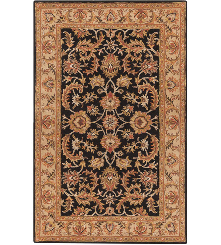 Surya AWOC2000-23 Middleton 36 X 24 inch Black Indoor Area Rug, Rectangle photo