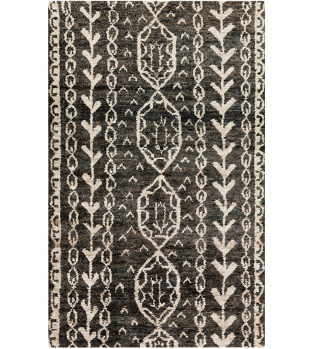 Surya Bjr1000 1616 Bjorn 18 X 18 Inch Black Indoor Area Rug Sample