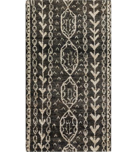 Surya Bjr1000 1616 Bjorn 18 X 18 Inch Black Indoor Area Rug Sample