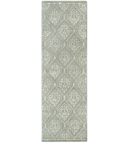 Surya CAN1907-268 Modern Classics 96 X 30 inch Gray and Neutral Runner, Wool photo