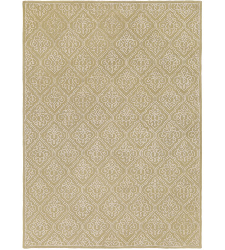 Surya CAN1914-811 Modern Classics 132 X 96 inch Green and Neutral Area Rug, Wool photo